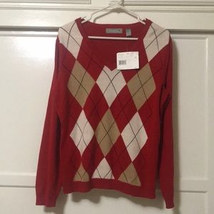Liz Claiborne Long sleeve V Neck Size XL